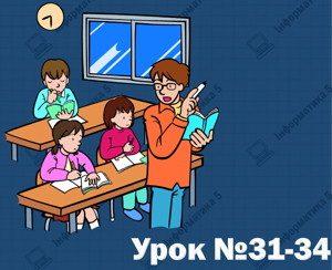 Працюємо в проекті. Урок 31-34 (5 клас)
